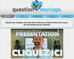 question mariage