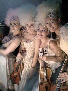 quatuor féminin Nice