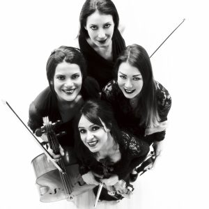 female string quartet Paris