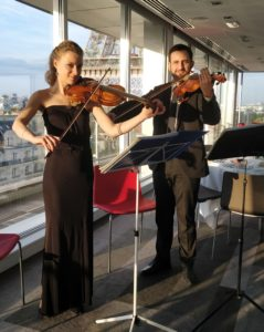 violoniste mariage cocktail